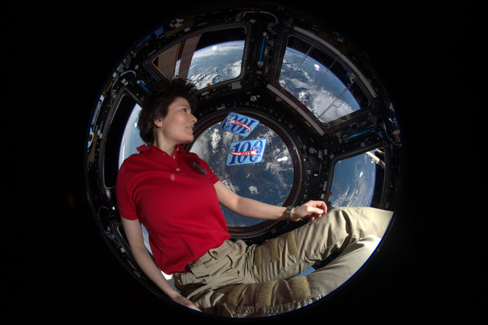 Samantha's 200th day in space